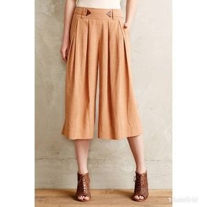 NWT Anthropologie ELEVENSES Kinney Culottes Pants